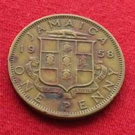 Jamaica 1 Penny 1958  Jamaique Jamaika Wºº - Jamaica