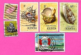 3262  --  KENYA  --    Lot  De  Timbres   Oblitérés - Kenya (1963-...)
