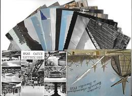 Belgique > BRUXELLES  (Laeken) Exposition Universelle 1958- Lot De 19 Cartes Cpsm, Voir Scan R / V Des 19 Cartes - Universal Exhibitions