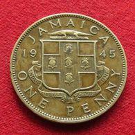 Jamaica 1 Penny 1945  Jamaique Jamaika Wºº - Jamaique