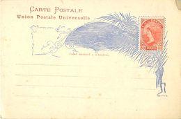 Carte Postale - Entier - BRESIL - 80 Reis - Entiers Postaux