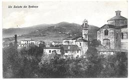 ITALIE  . CPA . Environs De BERGAMO . Un Saluto Da REDONA  . - Bergamo