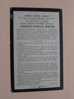 DP E.H. Christianus MAES () Lommel 1 Jan 1832 - 8 Nov 1908 ( Zie Foto's ) ! - Obituary Notices