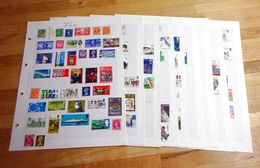 GB Mainly QEII, Mint(Face Value FV = £8), Used, Blocks, Etc, On Pages. - Collections
