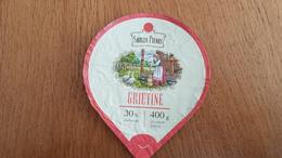 Lithuania Litauen Sour Cream 30% 400g. - Opercules De Lait