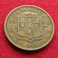 Jamaica 1/2 Half Penny 1950 Jamaique Jamaika Wºº - Jamaique