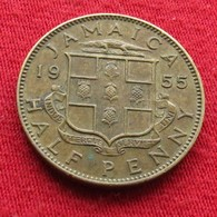 Jamaica 1/2 Half Penny 1955 Jamaique Jamaika Wºº - Jamaique