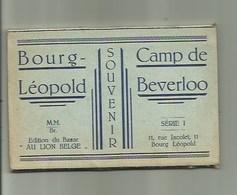 Camp De Beverloo: Boekje Met 10 Postkaarten - Leopoldsburg (Kamp Van Beverloo)