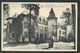Leernes. (Fontaine L'Evêque)  Château De Mr. Dewandre.   2 Scans - Fontaine-l'Evêque