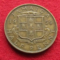 Jamaica 1/2 Half Penny 1959 Jamaique Jamaika Wºº - Jamaique