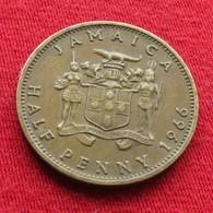 Jamaica 1/2 Half Penny 1966 Jamaique Jamaika Wºº - Jamaique