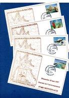 Lot De 4 Cartes / Journée De L'environnement / Montenach / 18 Mai 1997 - Cartes-Maximum