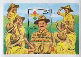 Ghana  1982 Scouting Year S/S - Ghana (1957-...)