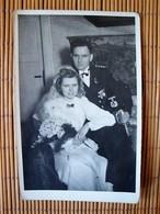 Altes Original-Foto-Karte 2. WK., Portait Marinesoldat Mit Orden, Narvikschild, Ordensspange - 1939-45