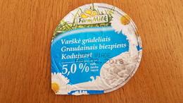 Lithuania Litauen Grainy Curd - Milk Tops (Milk Lids)