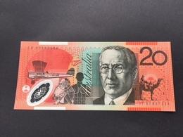 AUSTRALIA P59 20 DOLLARS 2002.2007 UNC POLY - Emissions Gouvernementales Décimales 1966-...