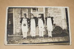 Ancienne Carte Postale,photo Originale De Courcelles,militaire ? - Courcelles