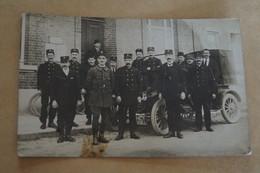 Ancienne Carte Postale,photo Originale Environs De Courcelles,Poste,employés De La Poste - Courcelles