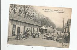 VINCENNES 68 CAMP DE SAINT MAUR CASERNEMENTS DES CHASSEURS A PIED  (BELLE ANIMATION) - Vincennes
