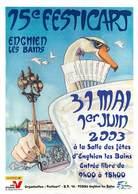 Illustrateurs - Illustrateur Claude Coudray - Enghien Les Bains - Animaux - Cygnes - Autographe - Signature - Altre Illustrazioni