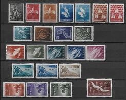 TRIESTE ZONE B - 1949/51 - SERIES COMPLETES YVERT N°23/33 + PA 3/9 + TAXE 6/10 * - COTE = 68 EUROS - 7. Trieste