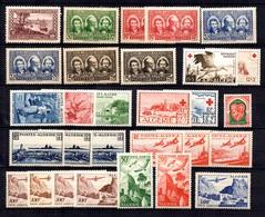 Algérie Belle Petite Collection Neufs ** MNH 1930/1958. Bonnes Valeurs. TB. A Saisir! - Algérie (1924-1962)