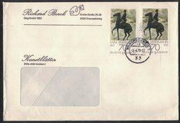 AI02   Germany 1979 Commercial Cover  With Postmark Braunschweig, Pair Liebermann - BRD