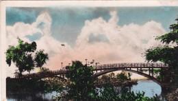 SAIGON / LE PONT TOUCHANT LE JARDIN BOTANIQUE / CIRC 1952 - Viêt-Nam