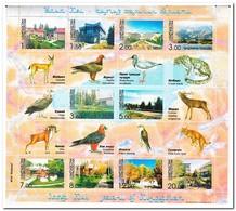 Kirgistan 2003, Postfris MNH, Animals, Buildings, Nature - Kirgizië