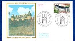 Enveloppe 1er Jour  / Série Touristique / Château De Rochechouart / 11-1-75 - 1970-1979