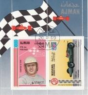 "Bf. Ajman 1969 Cars Racing Auto Piloti  A.J. FOYT  "" MG"" Manama Automobilismo - Ajman"