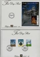 BELGIE - BELGIQUE  First Day Sheets Volledig Jaar 2007 - 25 Stuks - Met KUIFJE - FDC