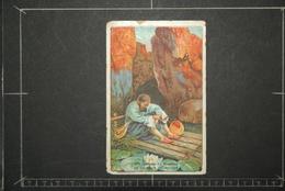 Chromos Et Images, Chromos Librairie D'education Nationale La Caverne Du Rocher 6eme Voyage De SINBAD - Unclassified