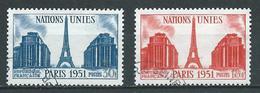 FRANCE 1951 . N°s 911 Et 912 . Oblitérés . - France