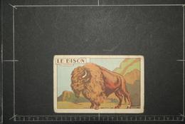 Chromos Et Images, Chromos Animaux  Le Bison - Unclassified