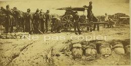 GUERRE De 1870 Camp Retranché CDV - Oorlog, Militair
