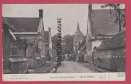 62 - FOSSEUX----Rue De L'Eglise--animé - Autres Communes