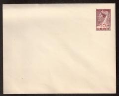 """1950 - Envelop Van Curacao Met Rode Opdruk """"""""Nederland"""""""" En Nieuwe Waarde -10cent- (Geuzendam Catalogus 6e Editie: Nr 31 - Postal Stationery"""