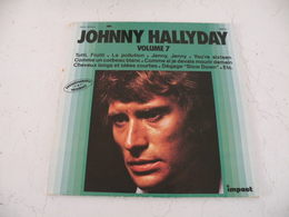 Johnny Hallyday - Chansons De 1962 à 75 (Titres Sur Photos) - Vinyle 33 T - LP - Vinylplaten