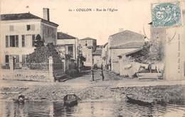 COULON - Rue De L'Eglise - Sonstige Gemeinden