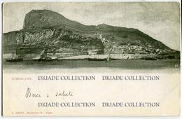 CARTOLINA GIBILTERRA GIBRALTAR VIAGGIATA - Gibilterra