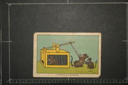Chromos Et Images, Chromos Illustration Le Piege A Rats Souris  Benjamin Rabier - Unclassified