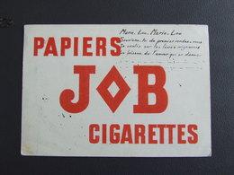 JOB PAPIERS A CIGARETTES SUPERBE BUVARD ANNEES TRENTES - Tabac & Cigarettes