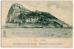 CARTOLINA GIBILTERRA ROCK GIBRALTAR - Gibilterra