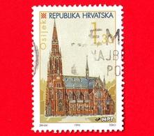 CROAZIA - Usato - 1995 - Città Croate (III) - OSIJEK - 1.30 - Croazia
