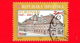CROAZIA - Usato - 2001 - Castello Di Vukovar - 2.80 - Croazia