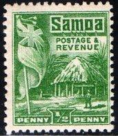 SAMOA, MANDATO NUOVA ZELANDA, OLANDA, USI E COSTUMI, 1921, FRANCOBOLLI NUOVI (MLH*) Mi. 56A    Scott 142 - Samoa
