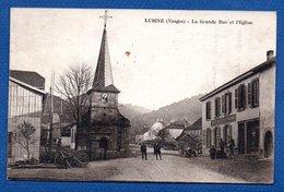 Lubine  / La Grande Rue Et L'Eglise - France