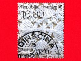 CROAZIA - Usato - 2008 - Patrimonio Etnografico Croato - Abiti E Costumi - Pag's Lace - 10.00 - Croazia
