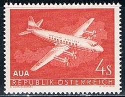 Republik Osterreich, 1958, # 61, Aériens, MH - 1945-60 Nuovi & Linguelle